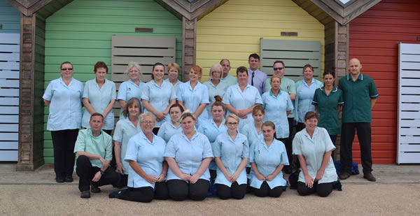 Central care staff photo